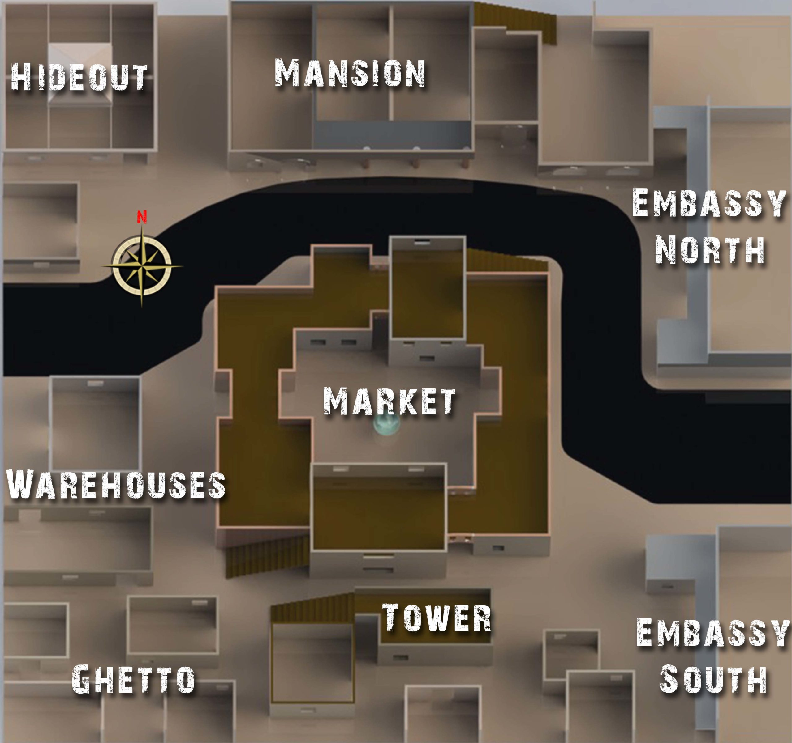 Battlefield Baghdad Map